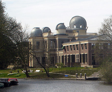 The 1860 Leiden Observatory, after restoration (2013) Leiden-Sterrewacht-2013-d.jpg