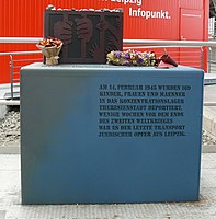 Leipzig Hbf Jewish Memorial 01.JPG