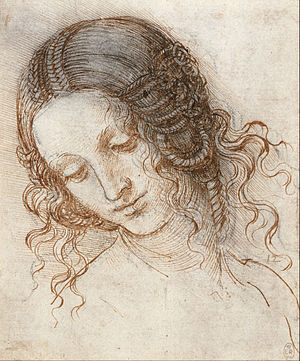 Kenneth Clark - Leonardo da Vinci: Head of Leda, in the Royal Collection
