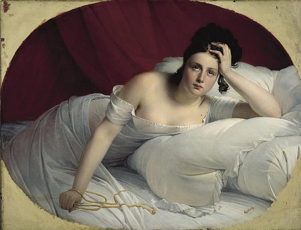 Les Regrets (1827) по имени Клод-Мари Дюбуф (A) .jpg