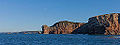 Les falaises d'Hendaye depuis la mer - Pays Basque Euskadi - Photo Image Photography (11356284945).jpg