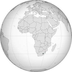 Lesotho (orthographic projection).svg