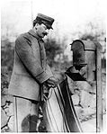 Letter Carrier Collecting Mail (2551057116).jpg