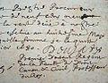 Lettre autographe de l'académicien Jean Doujat au sujet de sa rétribution par le Collège de France (25 janvier 1680).jpg
