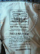 0e94b9ada3a Levi Strauss & Co. - WikiVisually