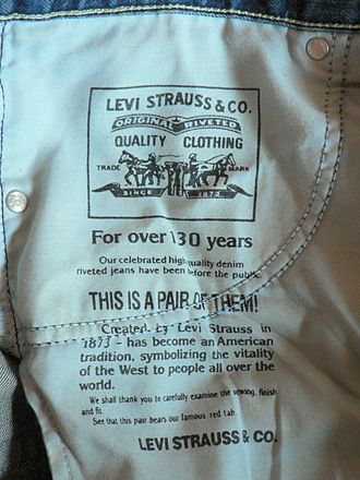 Levi Strauss & Co. - Levi's 506 inside