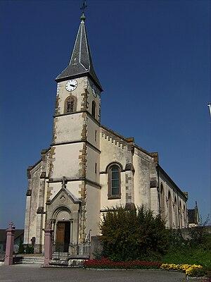 Leymen - Saint-Léger church in Leymen