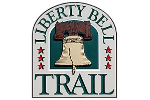 Liberty Bell Trail - Image: Liberty Bell Trail Sign