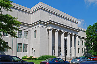Tennessee State Library and Archives United States historic place