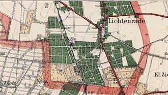 Karte Berlin Lichtenrade.Liste Der Strassen Und Platze In Berlin Lichtenrade Wikipedia