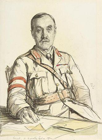 Alexander Hamilton-Gordon (British Army officer, born 1859) - 1917 portrait by Francis Dodd