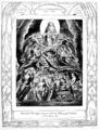 Life of William Blake (1880), Volume 2, Job illustrations plate 2.png