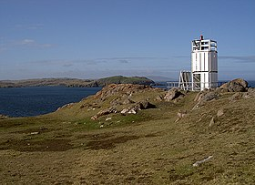Lighthouse Muckle Roe - geograph.org.uk - 629323.jpg
