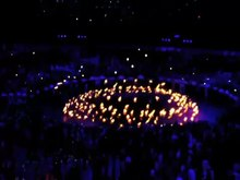 File:Lighting of the London 2012 Olympic Cauldron.webm