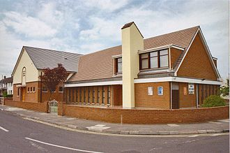Religion in Northern Ireland - A Baptist church in Limavady, County Londonderry.