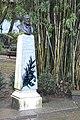Lisbon, Jardim da Estrela, bust of actor Taporda.JPG