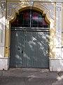 Listed Art Nouveau house portal, 22 Csongrádi Street, Rákócziváros 2016 Hungary.jpg