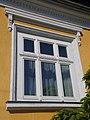 Listed house, window. - 11 Bajcsy-Zsilinszky Street, Bia, Biatorbágy, Hungary.jpg