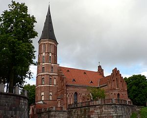 Gothic architecture in Lithuania - Kaunas Franciscan Vytautas Church