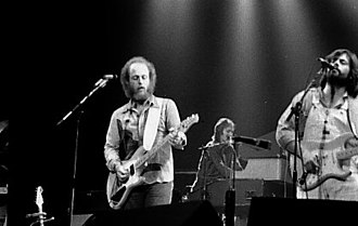 Little Feat - L to R: Paul Barrere and Lowell George, frontmen for Little Feat, 1972–1977