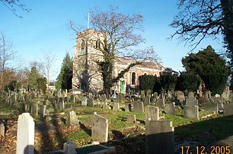 Canons Park - Image: Little Stanmore, Church of St Lawrence geograph.org.uk 92097