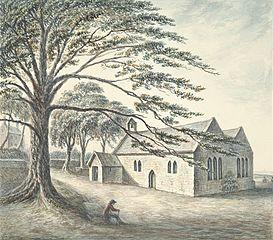 Llan Sain Siôr, or, Church of St. George and rectory