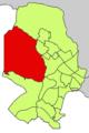 Localització de Son Vida respecte del Districte de Ponent.png