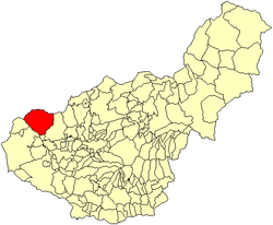 Location of Montefrío