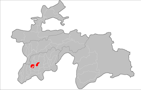 Location of Bokhtar District in Tajikistan.png
