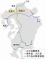 Location of Tosu Jct ja.png
