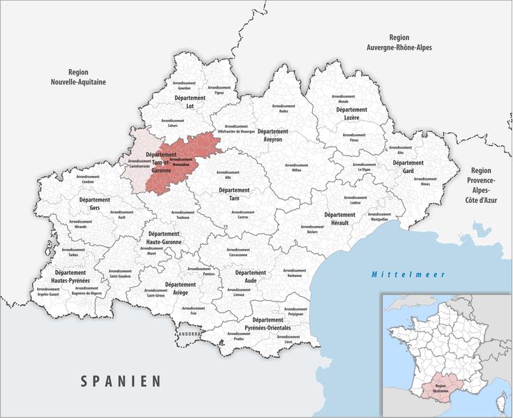FileLocator map of Arrondissement Montauban 2017png Wikimedia