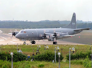 CP-140 Aurora at Geilenkirchen AB, Germany