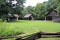 Log cabins, New Echota July 2017.jpg