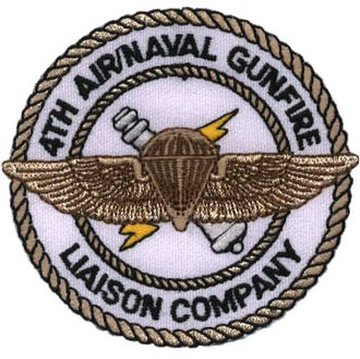 Air Naval Gunfire Liaison Company - Image: Logo 4th anglico