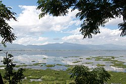 Loktak Lake, around 30 km from the capital Imphal
