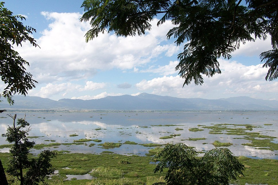 Lohtak Lake, around 30 km from the capital Imphal