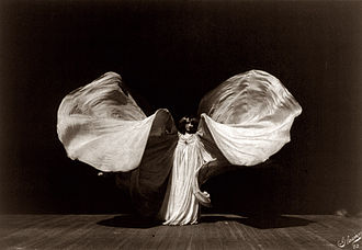 Loie Fuller - Portrait of Fuller by Frederick Glasier, 1902