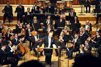 Bernard Haitink - London, Barbican Hall, Bernard Haitink and the London Symphony Orchestra.