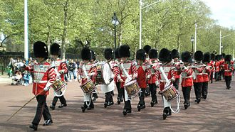 Corps of drums - British Corps of Drums.