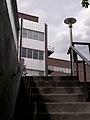 Looking Up Stairway By Footbridge At Thurston Hall (4574943449).jpg