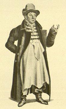 Louis Angely als Maurerpolier Kluck in Das Fest der Handwerker (Quelle: Wikimedia)