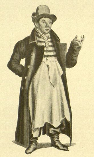 Louis Angely - Louis Angely as Foreman Kluck in Das Fest der Handwerker