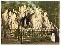 Lourdes Grotto, near the nunnery of Ingenbohl, Lake Lucerne, Switzerland-LCCN2001703093.jpg