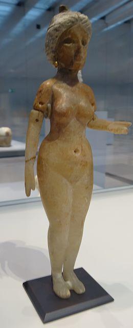 Galerie Photo Nue >> Statuette De Femme Nue Debout Representant Peut Etre La Grande