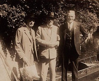 Percy Lowe - Lowe with W.L. Sclater and Alexander Wetmore, 1934
