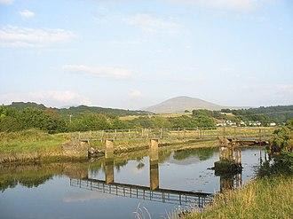 River Artro - Footbridge over the lower Artro