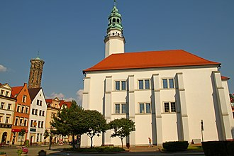 Lubań - Town hall, 15th and 16th centuries