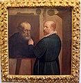 Luca cambiaso, autoritratto dipingendo un ritratto del padre.JPG