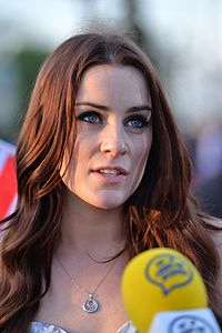 Lucie Jones in Kiew, 2017