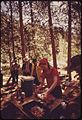 Lunch stop for members of Snake River raft trip through Hells Canyon..., 05-1973 (7065862817).jpg
